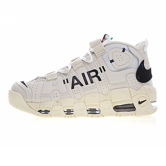 995e8945d Original New Arrival Authentic Nike Air More Uptempo Men Basketball Shoes  Sneakers Sport Outdoor Good Quality