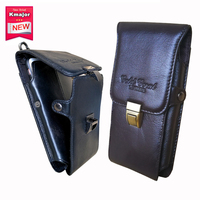 Genuine Leather Carry Belt Clip Pouch Waist Purse Case Cover For DOOGEE S60 Mobile Phone Bag