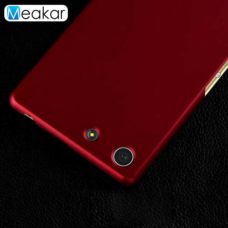 Di plastica Coque Copertura 5.0For Sony Xperia M5 Per Il Caso di Sony Xperia M5 M 5 Dual E5603 E5606 E5663 E5633 Del Telefono caso Della Copertura posteriore Coque