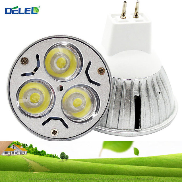 Deled Dei Casting Led Spotlight Epistar Mr16 9w 5w 3w Bulb Stage Lamp Light No Flicker