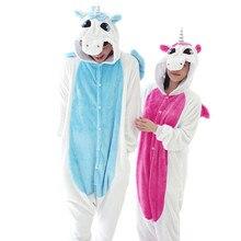 Anime Cosplay Unicornio Pijamas Unisex Adulta Onesies Para Adultos de Halloween Pijamas Mujeres Pijama Homewear Lindo Unicornio Carnaval