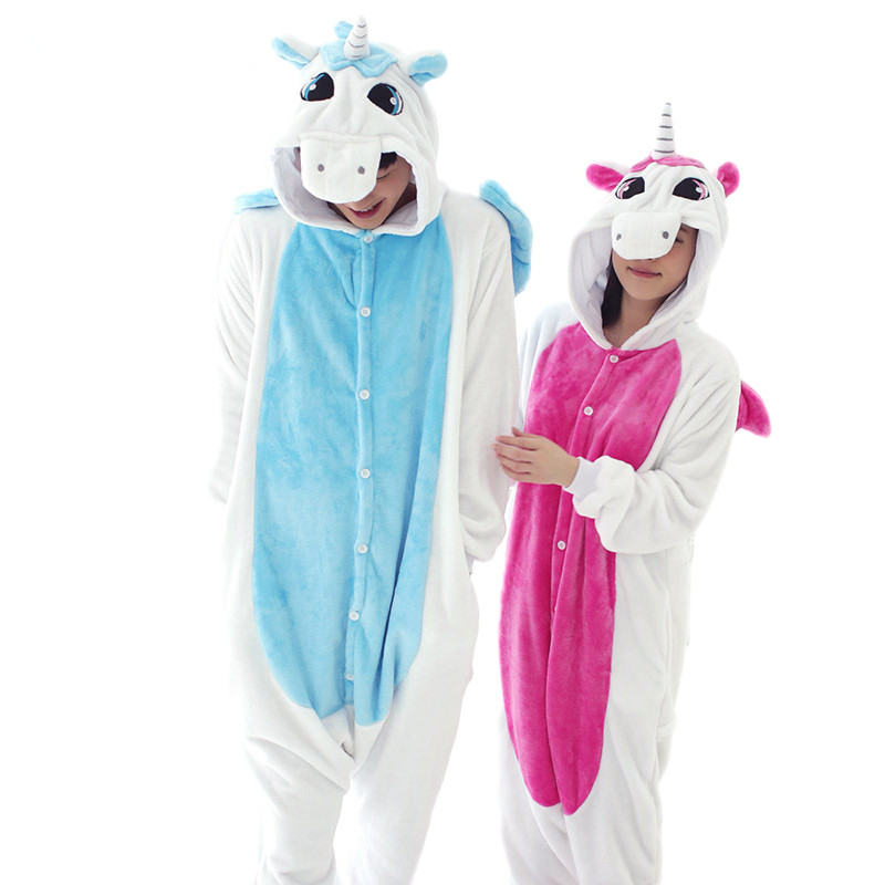 Anime Cosplay Unicorn Pijama Adult Unisex Homewear Cute Onesies For Adults Pajamas Halloween Women Pajama Unicornio Carnival