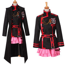 Anime D.Gray-man Hallow Lenalee Lee Cosplay Costumes цена