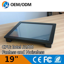 19″ embedded rugged tablet pc industrial computer with 12804*1024 resolution Resistive touch screen Intel D525 1.8GHz