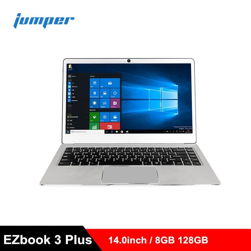 Jumper EZbook 3 Plus ordinateur portable 14.0 ''ordinateur portable 1080 P 8 GB ROM 128 GB SSD Windows 10 maison Intel Core M3-7Y30 PC double ordinateur WiFi
