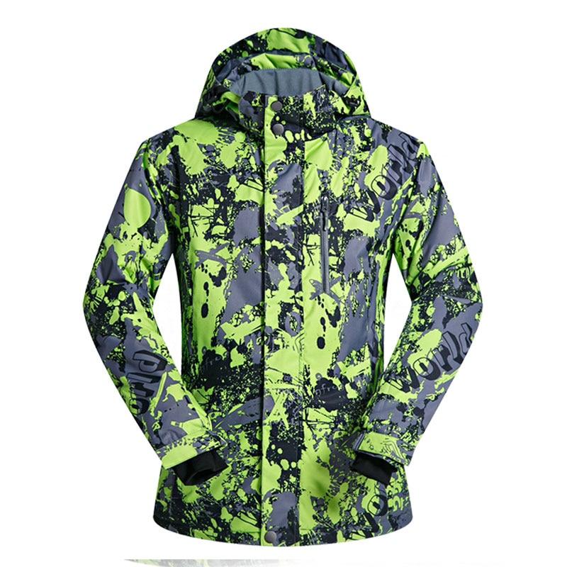 Men Ski Jacket Brand Windproof Waterproof Breathable Thicken Clothes Snow Coat -30 Degrees Winter Skiing And Snowboarding JacketMen Ski Jacket Brand Windproof Waterproof Breathable Thicken Clothes Snow Coat -30 Degrees Winter Skiing And Snowboarding Jacket