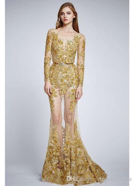 Золотое кружево для платья