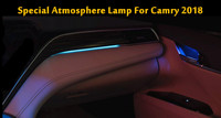 Car LED Special atmosphere lamp For Toyota Camry 2018 Decorative Lamp Door Light led light blue color car accessories