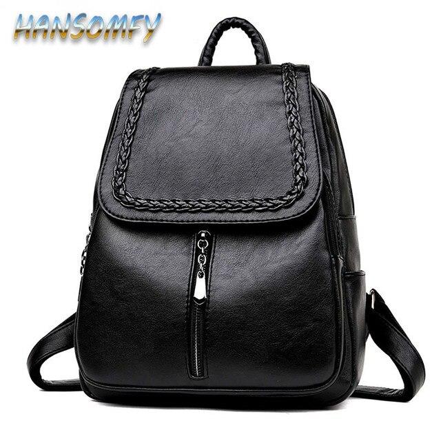 88e120440afd6 Moda markowy plecak na laptopa kobiety skórzane luksusowe tkania plecaki  moda damska plecaki tornister torba szkolna