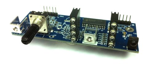 MiniDSP VOL-FP DSP Controls Interface Board With Volume Operation.