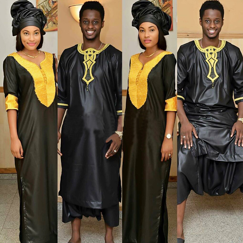 African Fashion Design Dresses Soft Material Embroidery Design Dresses Lady And Men African Fashion Design Africanafrican Dress Designs Aliexpress