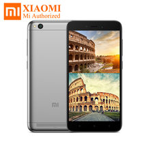 Original Xiaomi Redmi 5A 5.0 inch HD Snapdragon 425 Quad Core MIUI9 2GB RAM 16GB ROM 4G LTE Smartphone 13MP 3000mah GLONASS(Hong Kong,China)