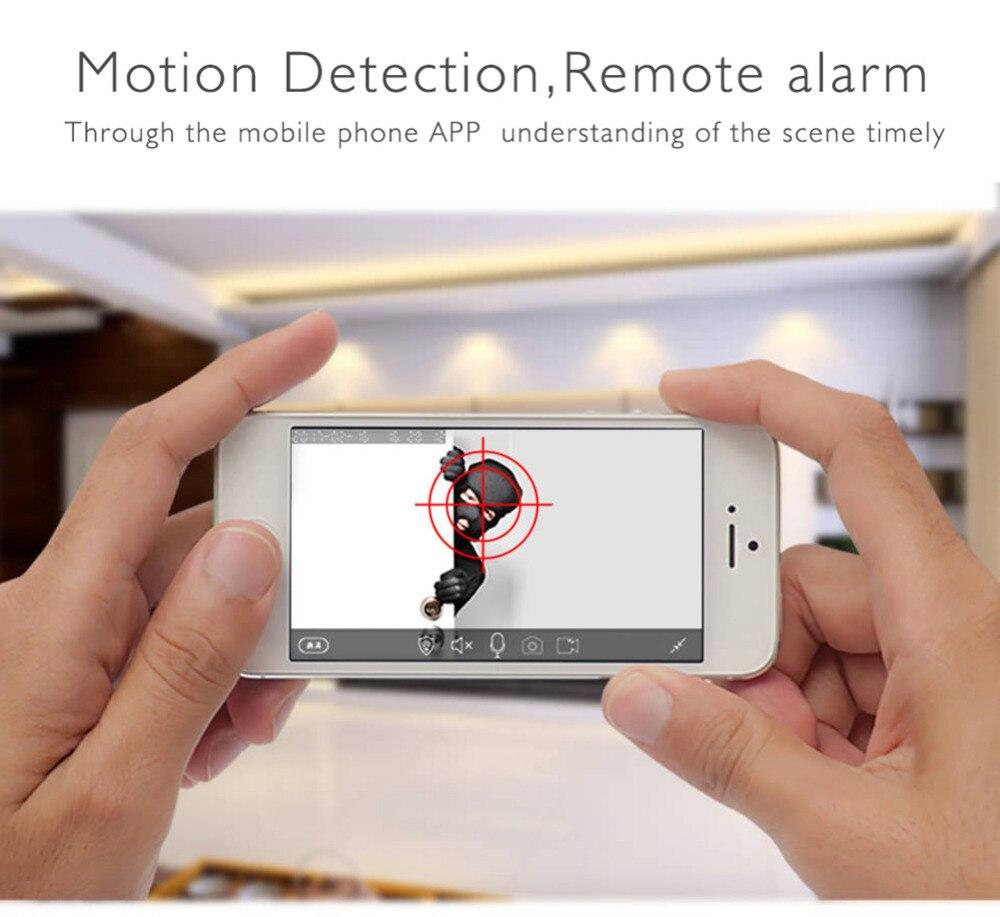 Wolf-Guard Wireless Home Alarm Security Burglar System GSM 2.4G WIFI Host 720P IP Camera Door/PIR/Smoke Motion Detector