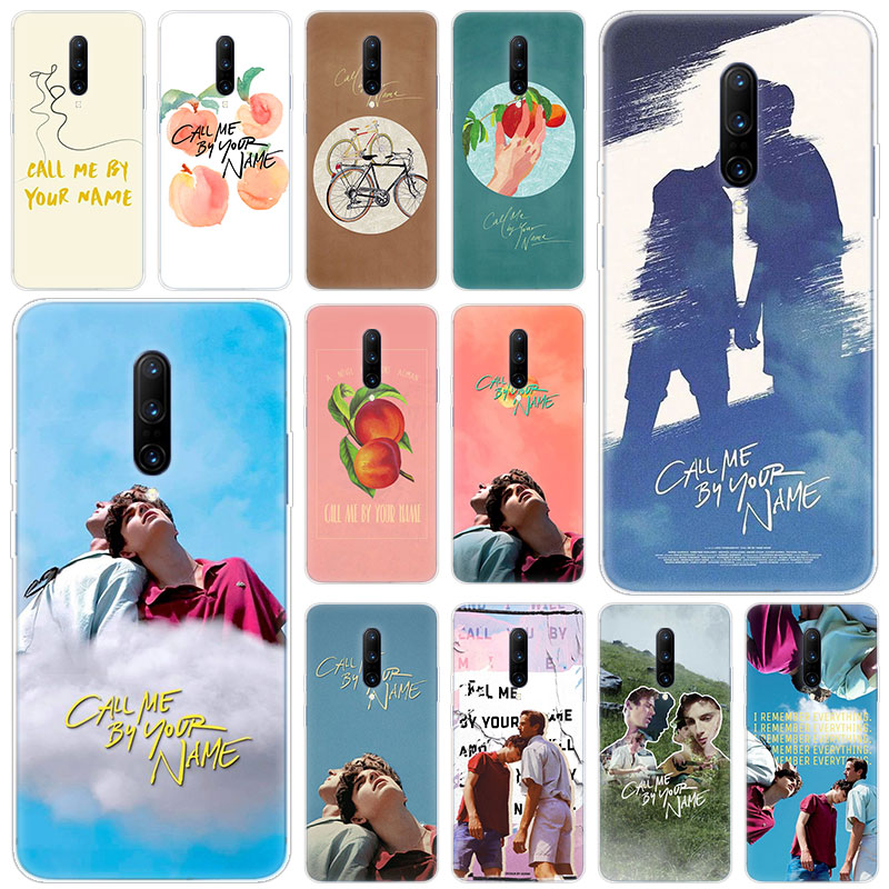 Hot Call Me By Your Name Soft Silicone Fashion Transparent Case For font b OnePlus b