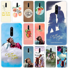 Hot Call Me By Your Name Soft Silicone Fashion Transparent Case For OnePlus 7 Pro 5G 6 6T 5 5T 3 3T TPU Cover