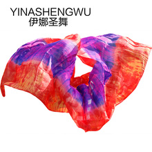 Belly Dance Props Women Silk Veils Veil For Girls 100%