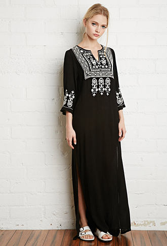 Long sleeved cotton summer dresses uk