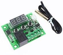10 шт. W1209 DC 12V Температура отопления охлаждения Термостат Регулятор температуры Переключатель Регулятор температуры термометр термо контроллер