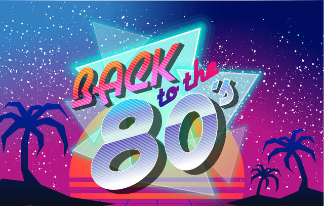 Us 6 3 37 Off Huayi Back To The 80 S Theme Backdrop For Photography 80s Party Decorations Photo Background Studio Props Photocall Xt 7467 In