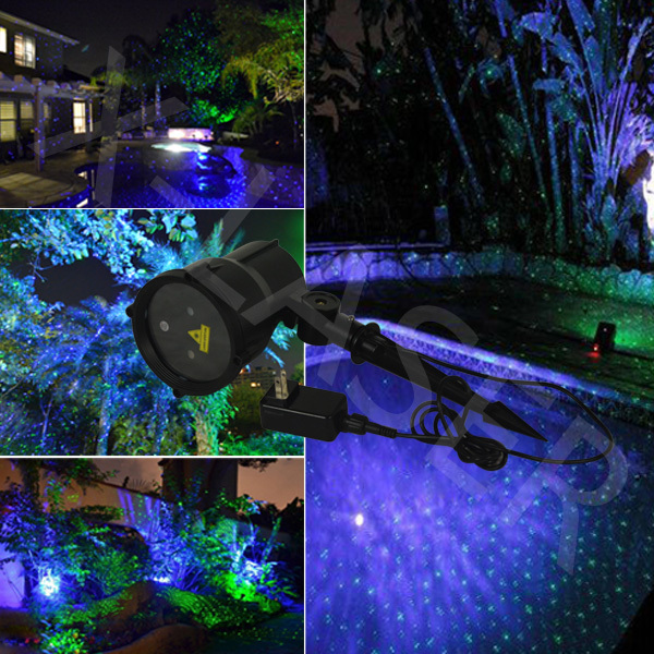 Elf light christmas lights projector outdoor lasergreen and blue elf light christmas lights projector outdoor lasergreen and blue moving garden laser decoration workwithnaturefo