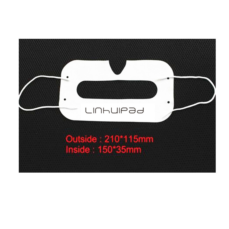 Replacement 3D Virtual Reality glass sanitary ears straps use hygiene mask For Sony PS4 Oculus Samsung