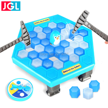 Penguin Ice Breaking Salvesta pingviin Great Family Toys Kingitused Desktop Game Fun Game Kes teeb Penguin Fall Off Lose See mäng