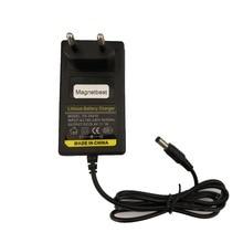 Зарядное устройство для литиевых аккумуляторов 8,4 в 12,6 в 16,8 в 21 в 2A 29,4 в 1A 18650, зарядное устройство для литиевых аккумуляторов 5,5 мм * 2,1 мм 110 220 В постоянного тока, сетевое зарядное устройство для литий ионных аккумуляторов