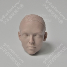1/6 The WWII Agent TRACY Female Head Sculpt Unpainted