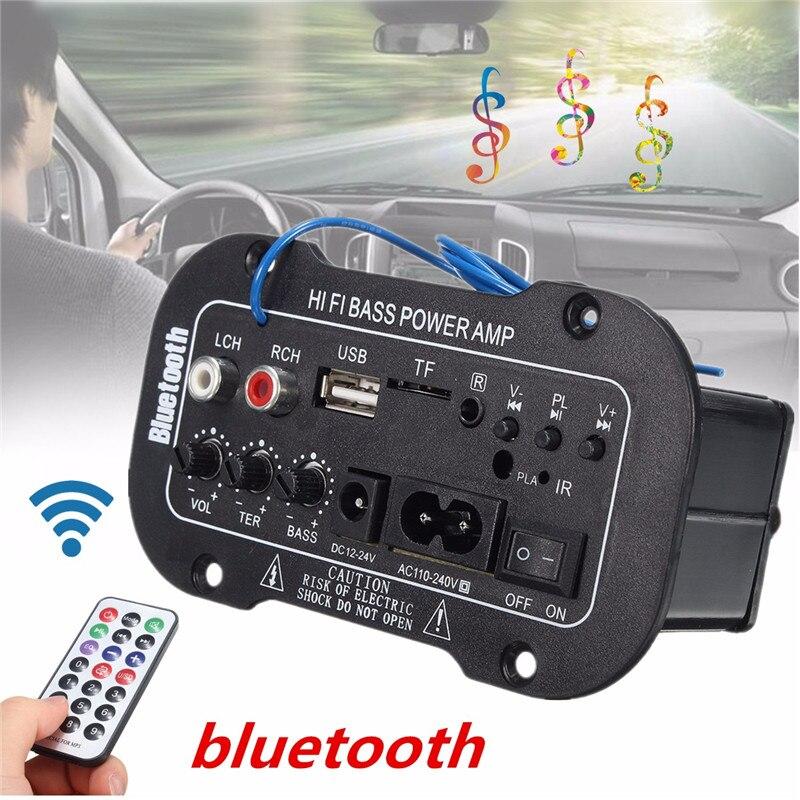Auto 30 Watt Verstärkerplatine Bluetooth Amplificador USB dac FM radio TF Player Subwoofer DIY Verstärker Für Motorrad