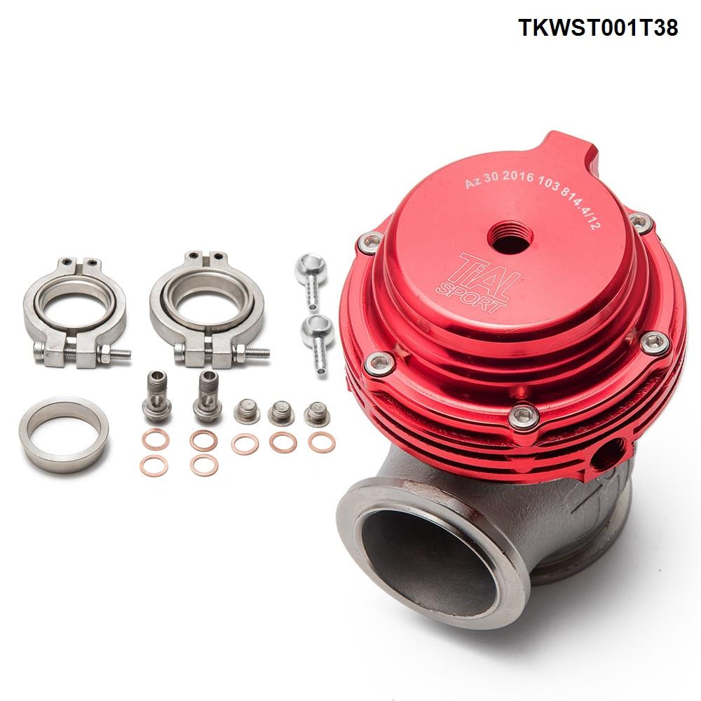Portão de resíduos turbo pulseira v, 38mm de desperdício externo para supercarga turbo colector-2