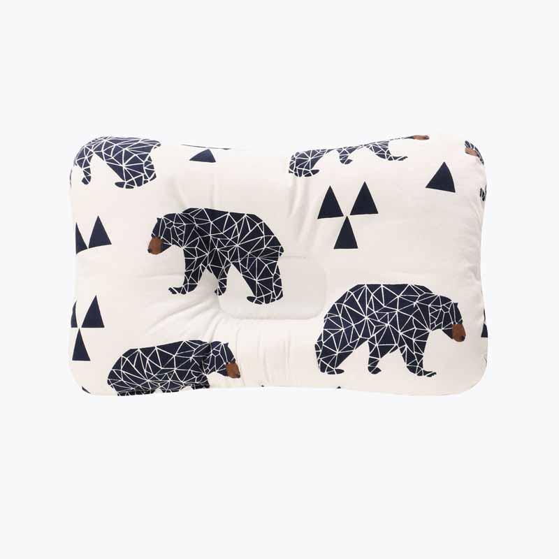 Подушка для младенца, подушка для защиты головы, детское постельное белье, Младенческая подушка для кормления малыша, позиционер для сна против скатывания - Цвет: Светло-серый