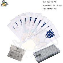 SF 50 FILTER HEPA Dust bags for Miele 3D GN S5000 S8000 Complete C2 C3 S5 S8 Miele Vacuum Cleaner bags filters spare parts bags