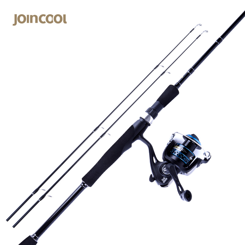 Joincool Feilu spinning lure fishing rod Combo Set 1.8M 2.1M 40T Carbon 9+1BB Spinning Reel 7.0:1 Casting Telescopic Fishing Rod joincool wushen casting spinning rod reel combo with baitcasting reel carp rod lure fishing rod casting carbon fishing rod
