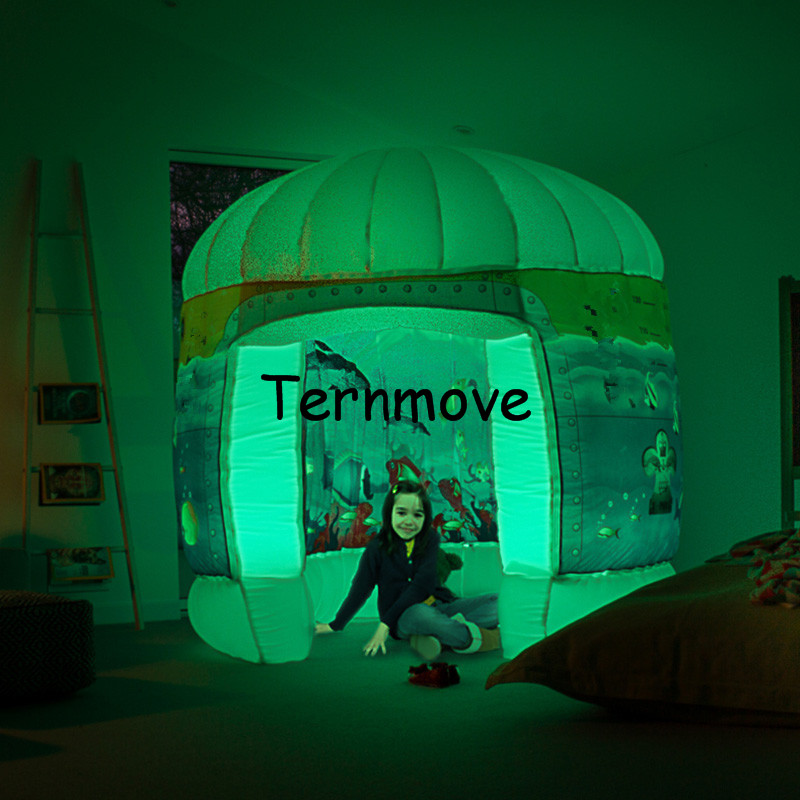 inflatable Reading room,kids Funny Indoor Outdoor Playhouse playing tent,inflatable pop up booth,POD Sub Sensory Room Play Tent super funny elephant shape inflatable games kids slide toy for outdoor