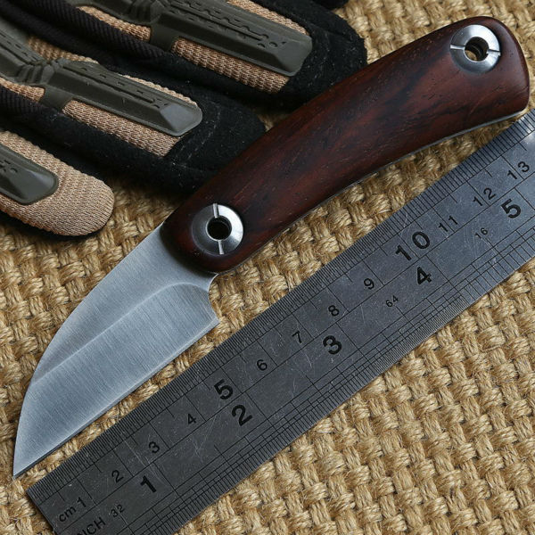 2016 Newest Ben N BK01 D2 blade Rosewood handle folding blade font b hunting b font