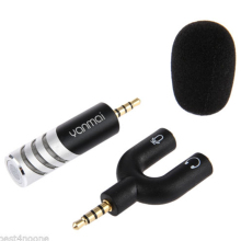 3.5mm High Quality Condenser Microphone Live Video Interview