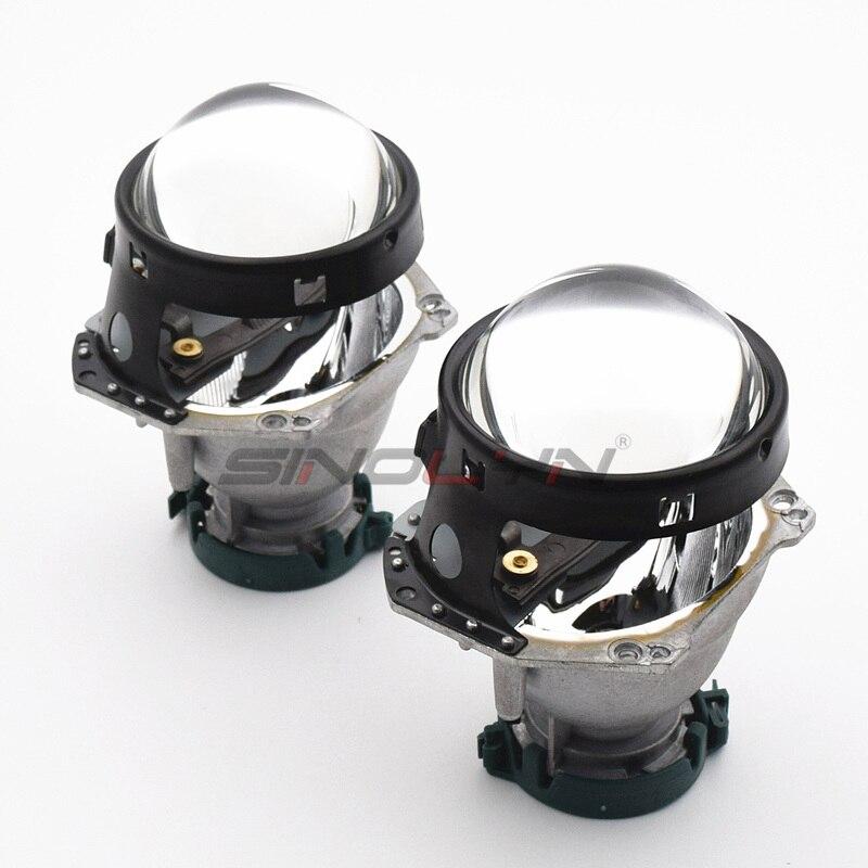 Mise à niveau automatique phare de voiture 3.0 pouces HID bi-xénon pour Hella 3R G5 5 projecteur lentille remplacer phare rénovation bricolage D1S D2S D3S D4S - 5