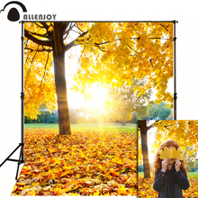 Allenjoy photographic background Autumn leaves golden sun kids vinyl boy send rolled photography backdrops allenjoy photographic background european royal family living room backdrops princess boy studio fabric 7x5ft