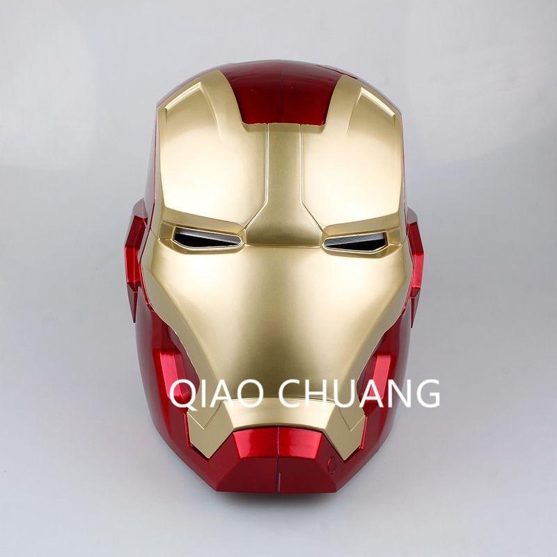 Avengers:Infinity War SUPER HERO Universe Robert Downey Jr Iron Man Tony Stark Helmet Adult Touch Sensing Mask 1:1 Model Toy G24 чехол для iphone 5 printio iron man robert john downey jr