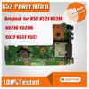 Free Shipping Original DC Power Button Jack Board For ASUS K52 K52J K52JR K52JC K52DR X52F