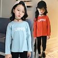 Primavera 2017 muchachas de los cabritos niños lucha negro Camiseta para los fabricantes que venden productos derivados