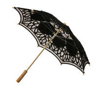 Parasol/Fantazyjne Stylu Retro Koronki Ręcznie robione ręcznie Wentylatora Wentylatora Parasol Parasol Ślubny Bridal Party Dekoracyjne Akcesoria Modelarskie