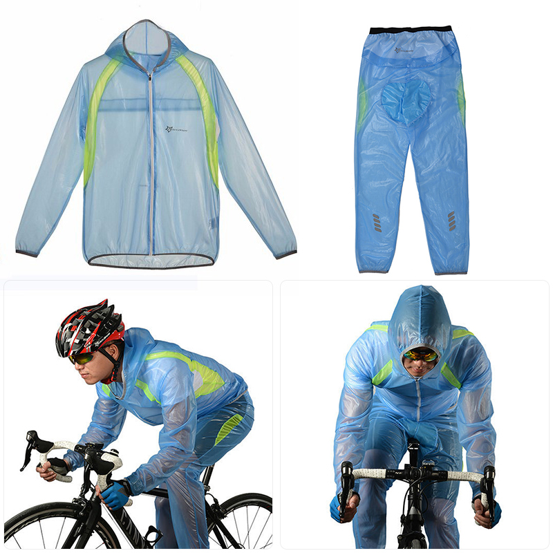 Outdoor Riding Jersey Mountain Bicycle <font><b>Bike</b></font> Cycling Raincoat Breathable Waterproof Windproof <font><b>Bike</b></font> Cycling <font><b>Equipment</b></font> image