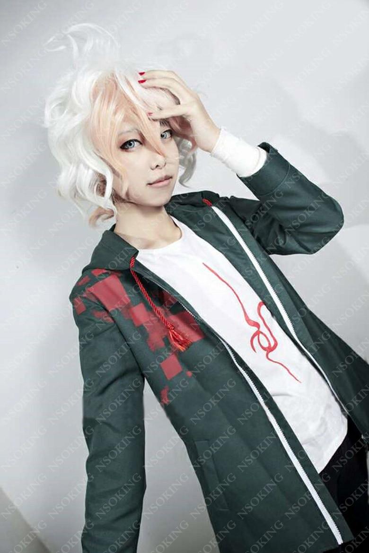 Dangan Ronpa DanganRonpa Komaeda Nagito Cosplay Costumes ...