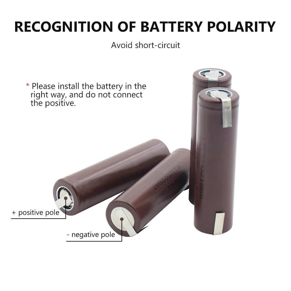 Новая 100% 18650 аккумуляторная батарея аутентичная HG2 18650 литий-ионная батарея 3000mAh 20A Высокая утечка для Vape Mod