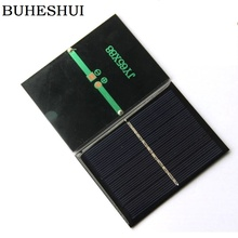 BUHESHUI 0.7W 5V Polycrystalline Solar Cells Solar Panels DIY Solar System Charger For 3.7V Battery 65*88MM 500pcs Wholesale