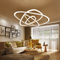 Светодиодная люстра Лофт освещение скандинавский подвесной светильник для дома деко осветительные приборы для гостиной современные подве...