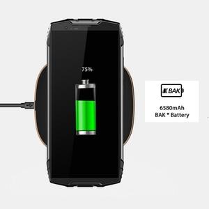 """Image 4 - Blackview BV6800 Pro 4GB + 64GB 5.7 """"étanche Smartphone 18:9 écran 6580mAh Android 8.0 sans fil charge téléphone portable"""