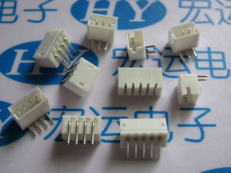 50pcs JST ZH 1.5mm 2P/3P/4P/5P/6P/7P/8P/9P/10P Right Angle pin Female Connector 34um95c p