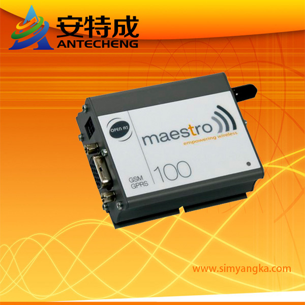 Low cost m2m gsm gprs modem rs232 tc ip maestro 100 free shipping
